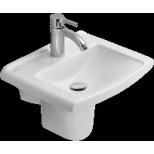 Villeroy & Boch Lifetime fontein 45x37 Cplus pergamon 537546R3