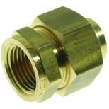 """Vsh  3-dlg.koppeling voor gas 1/2""""con.bi.x15mmcap. messing 624019"""