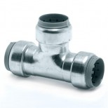 Vsh Tectite verloop t-stuk 22x18x22mm 3xpush staalverzinkt 4758065