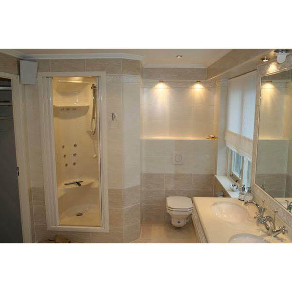 Badkamer Fijnaart inbouw stoomcabine in de badkamer