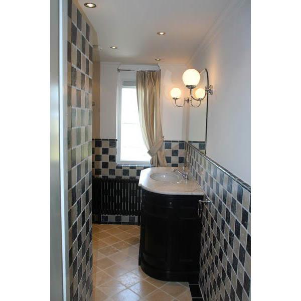 Badkamer Douche Wand ~ Badkamer Zevenbergen Engelse stijl badkamer met lambrizering