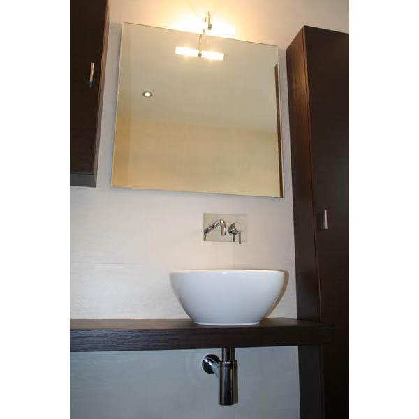Badkamer Almere badmeubel met opzetwastafel ondiep