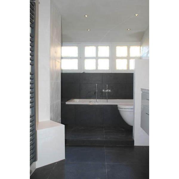 badkamer oud gastel opstap voor het bad met inloopdouche