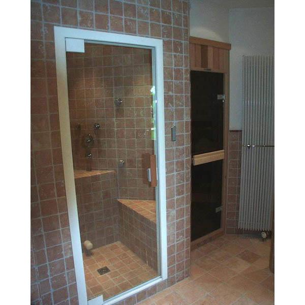 Badkamer Waspik bouwkundige stoomcabine in antiek marmer