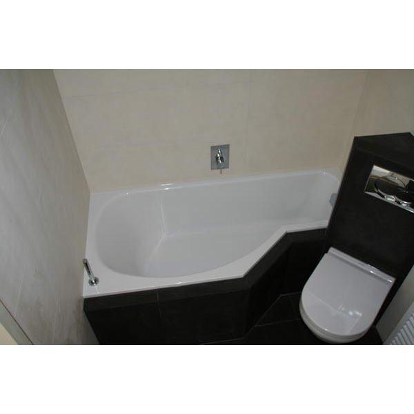 Badkamer Nijmegen hoektoilet bad combinatie
