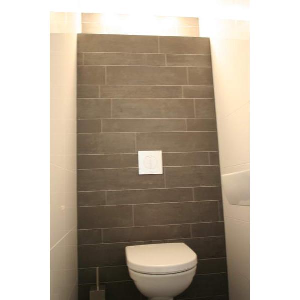 Toilet Apeldoorn Mosa Terra Maestricht stroken achter het toilet