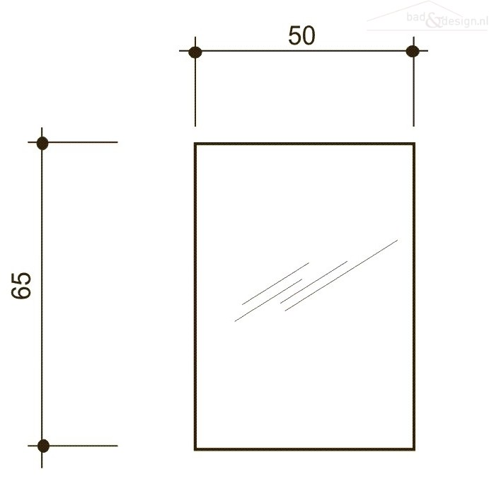 Handgrepen Keuken Industrieel : Detremmerie Dox spiegelkast met verlichting 50x65x18 links weatherb