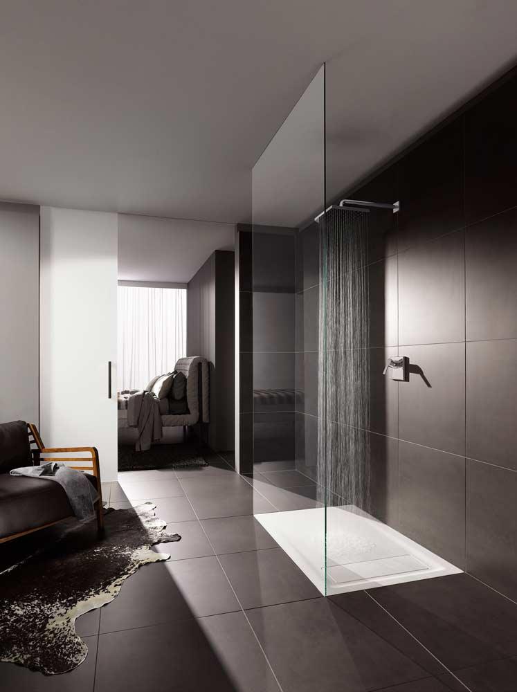 keramag design vrijstaand bad en inloopdouche. Black Bedroom Furniture Sets. Home Design Ideas