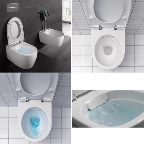 Sphinx 345 Rimfree toilet
