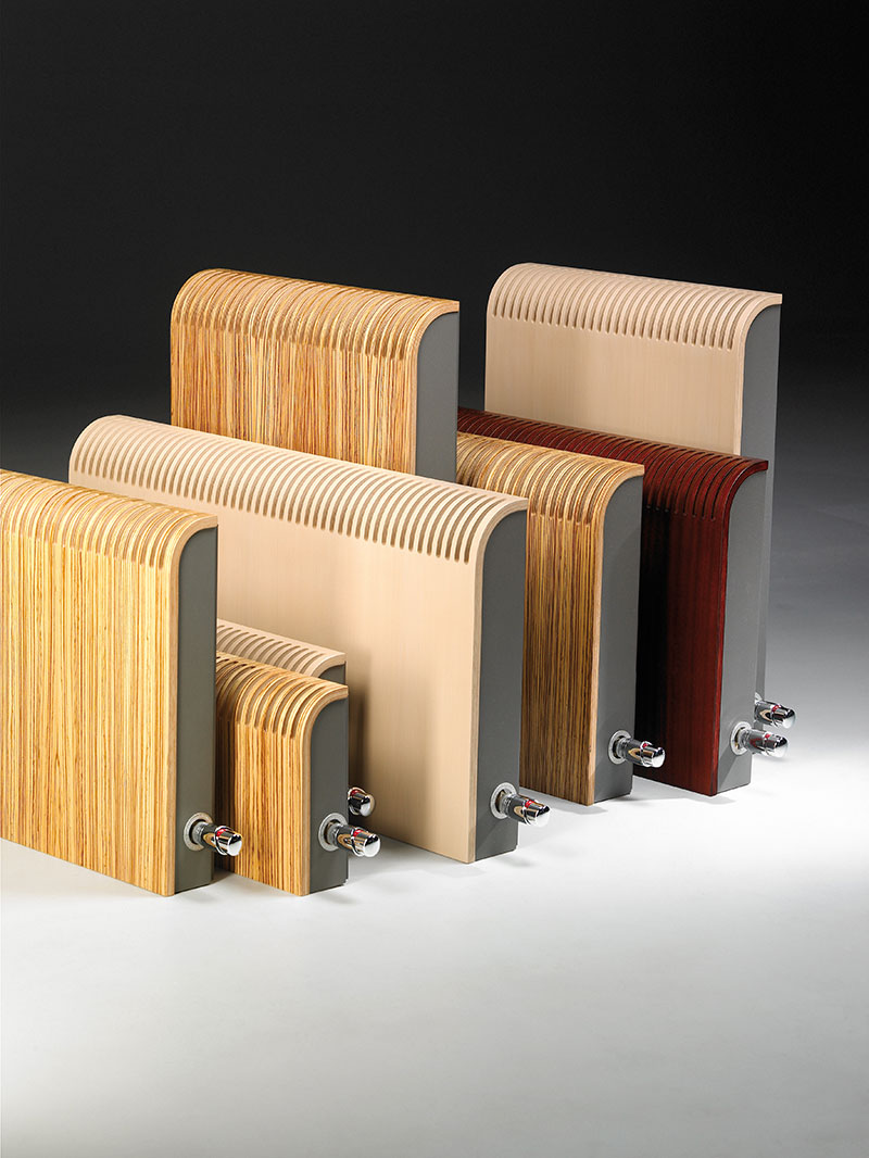 Jaga Knockonwood houten radiator
