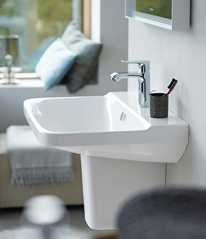 duravit overtuigt op het gebied van design. Black Bedroom Furniture Sets. Home Design Ideas