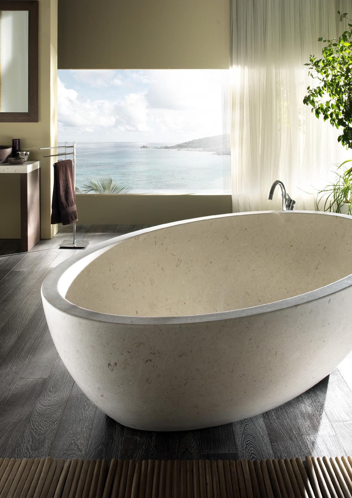 Margraf vrijstaand bad marmer Vasca-Gaia