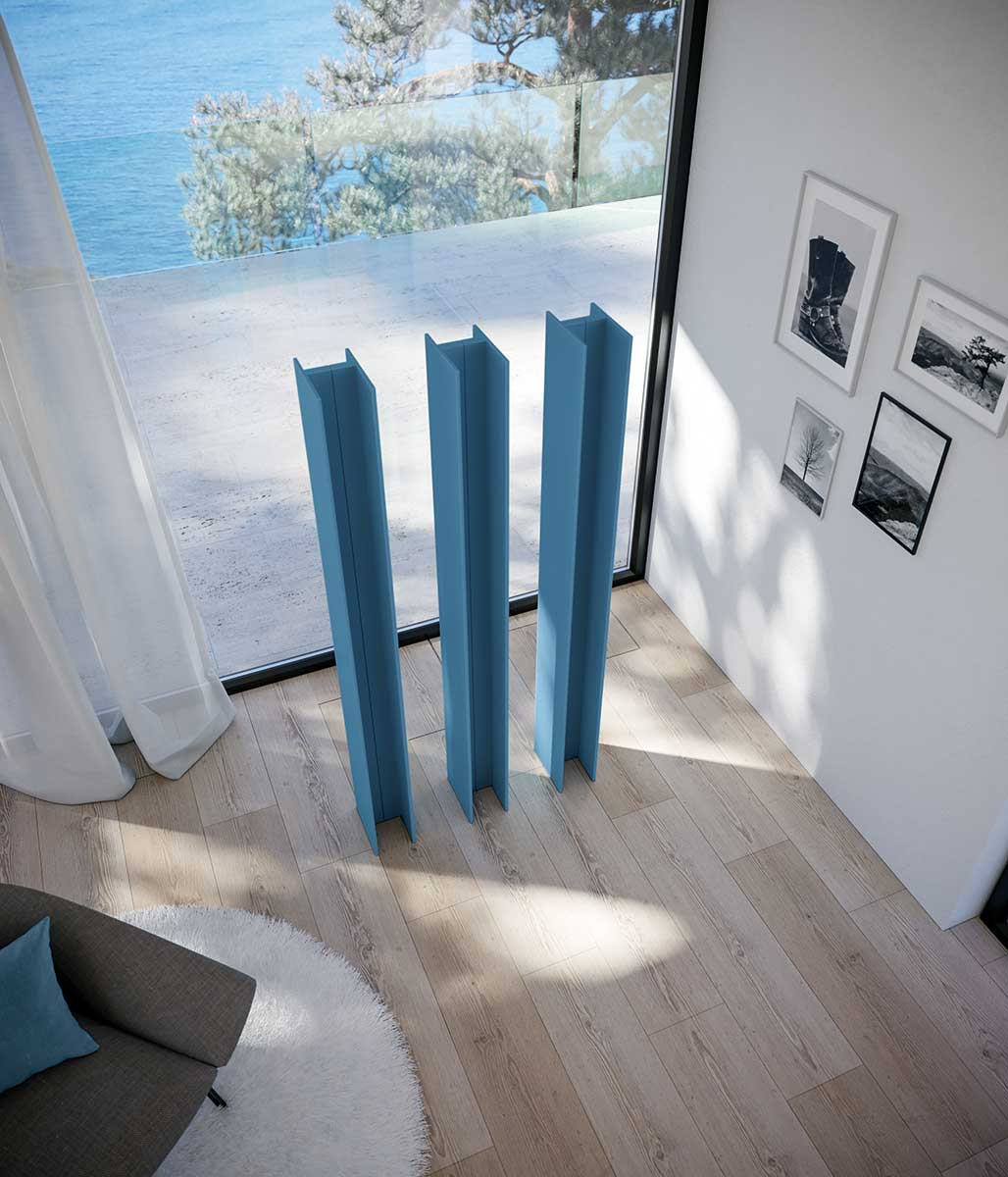 Antrax T Tower verticale radiator