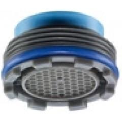 Neoperl Cache Cascade perlator 21,5mm buiten 2 stuks met sleutel kunststof 1510148