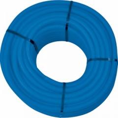 Wavin Tigris PEX/AL buis met mantelbuis 20x2,25 lengte 75m blauw 4361120075