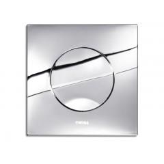 Wisa Maro bedieningsplaat kunststof mechanisch 16x16cm met spoelonderbreking voor XS WC-element glanschroom 8050414351