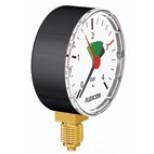 "Flamco Flexcon manometer 1/4"" - 63mm 0-4 bar axiaal 27210"