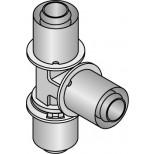 Uponor Composiet pers T-stuk 16X16X16mm 1022718