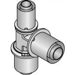 Uponor Composiet pers T-stuk 16X20X16mm 1022722