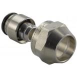Uponor klemkoppeling 2-delig met metalen huls 16x15K NL-koppeling voor vsh / bonfix knelfittingen 1048101