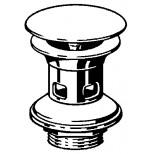 "Viega Visign visign V1 schachtplug met overloop 5/4""x63x75mm chroom 492595"