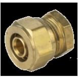 Vsh Multisuper Knel eindkoppeling 14mm messing 892089