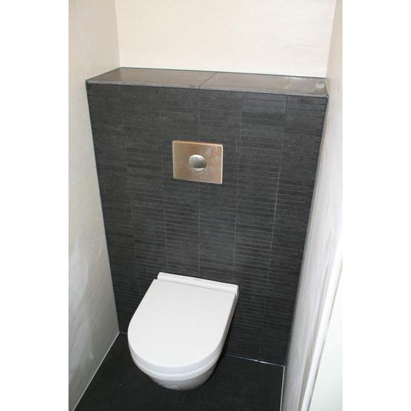 Extreem Toilet Dordrecht toilet met fonteinmeubel met Belgisch hardsteen PV91